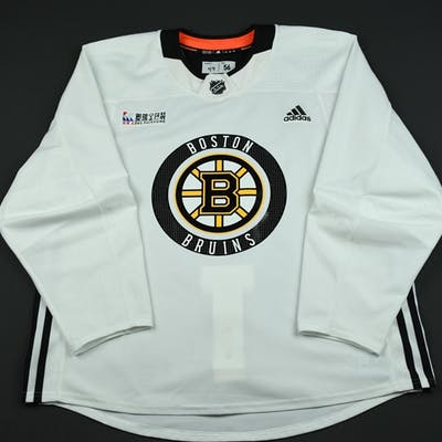 first rate 5a97d 5dc0a Heinen, Danton White Practice Jersey w/ O.R.G. Packaging ...