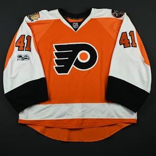 Stolarz, Anthony Orange Set 3 w/ NHL Centennial, Flyers 50th Anniversary