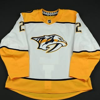 Bitetto, Anthony White Set 3 Nashville Predators 2017-18 #2 Size: 56