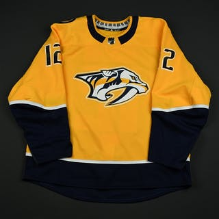 Fisher, Mike Gold Set 2 Nashville Predators 2017-18 #12 Size: 56