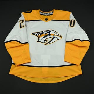Salomaki, Miikka White Set 2 Nashville Predators 2017-18 #20 Size: 54
