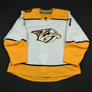Weber, Yannick White Set 3 / Playoffs Nashville Predators 2017-18 #7 Size: 56