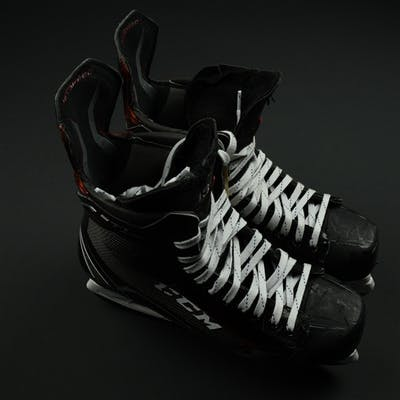 Hischier, Nico CCM JetSpeed FT1 Skates - PHOTO-MATCHED New Jersey