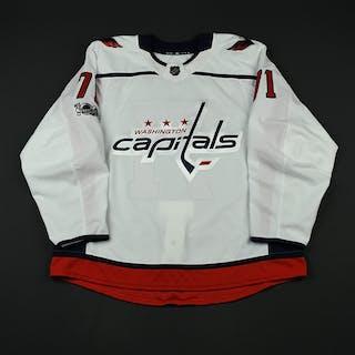 Elgestal, Kevin White Set 1 w/ NHL Centennial Patch - Preseason Only