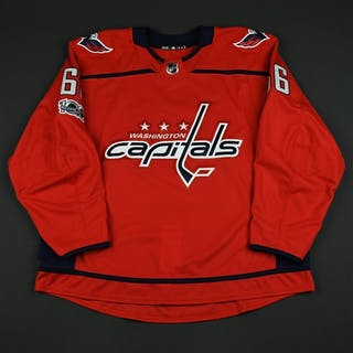 Gazley, Dustin Red Set 1 w/ NHL Centennial Patch - Game-Issued (GI)