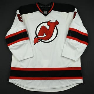 NOBR (Name on Back Removed) White - CLEARANCE New Jersey Devils #8 Size: 58+