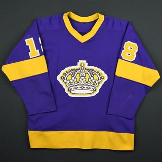 Taylor, Dave * Purple Los Angeles Kings 1979-80 #18 Size: 46