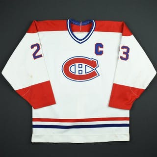 Gainey, Bob * White w/C Montreal Canadiens 1987-89 #23 Size: NA