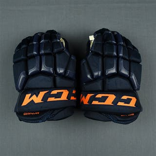 McDavid, Connor CCM HG50XP Gloves - December 2, 2017 to January 9