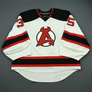 Kinkaid, Keith * White Albany Devils 2012-13 #35 Size: 58G