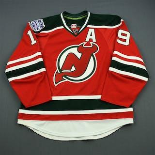 Zajac, Travis * Red w/A - Stadium Series Period 1 New Jersey Devils