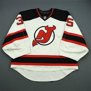 Schneider, Cory * White Set 1 - Photo-Matched New Jersey Devils 2014-15