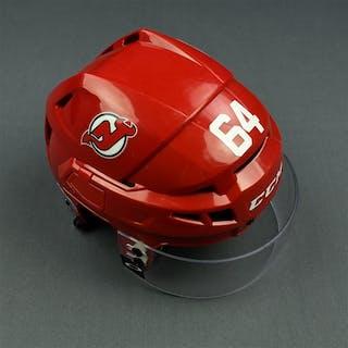 Blandisi, Joseph Red, CCM Helmet w/ Oakley Shield & NHL Centennial