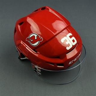 Lappin, Nick Red, CCM Helmet w/ Bauer Shield & NHL Centennial Sticker