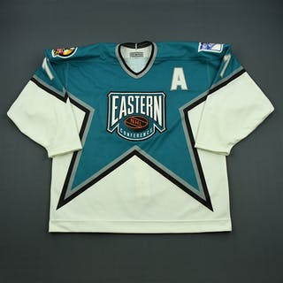 Messier, Mark * White/Teal Eastern Conference w/A - Boston NHL All