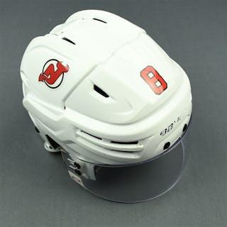 Butcher, Will White, Bauer Helmet w/ Oakley Shield New Jersey Devils