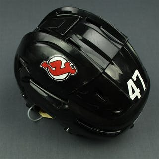 Quenneville, John Black, Bauer Helmet (Shield Removed) New Jersey