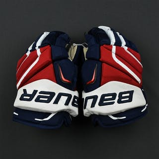 Walker, Nathan Bauer Vapor APX2 Gloves Washington Capitals 2016-17