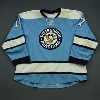 Rupp, Mike * Powder Blue Alternate - Photo-Matched Pittsburgh Penguins
