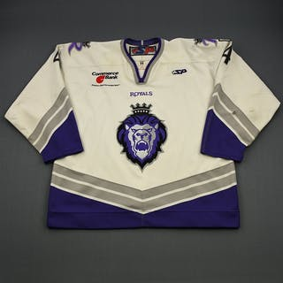 State, Jeff * White Set 1- CLEARANCE Reading Royals 2006-07 #4 Size: 58