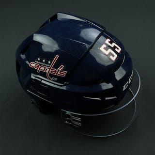 Ness, Aaron Blue, CCM Helmet w/ Bauer Shield Washington Capitals 2017-18