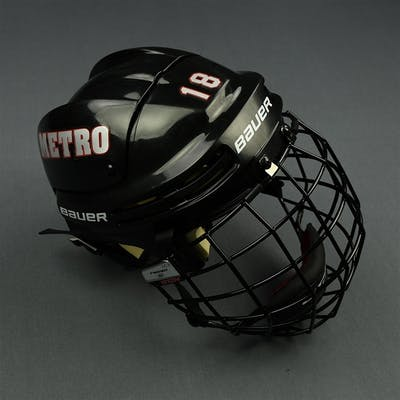Russo, Rebecca Bauer Helmet with CCM FM580 Facemask - First Six Games