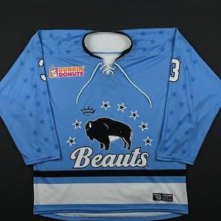 Edney, Sarah Blue Set 1 Buffalo Beauts 2017-18 #3 Size: MD