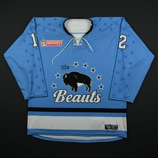 Vint, Rebecca Blue Set 1 Buffalo Beauts 2017-18 #12 Size: LG