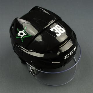 Korpikoski, Lauri Black, CCM Helmet w/ Oakley Shield Dallas Stars