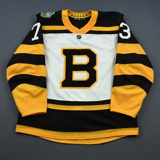 McAvoy, Charlie White - Winter Classic Period 2 - Game-Issued (GI)