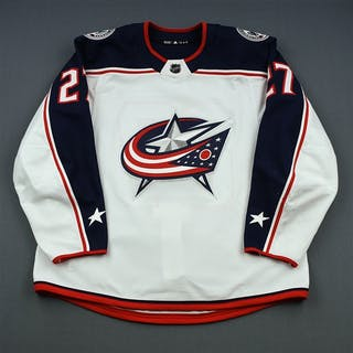 Murray, Ryan White Set 1 Columbus Blue Jackets 2018-19 #27 Size: 56