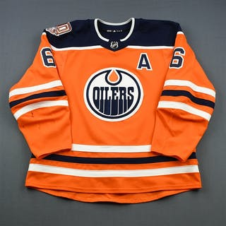 Larsson, Adam Orange Set 1 w/A, w/ 40th Anniversary Patch Edmonton