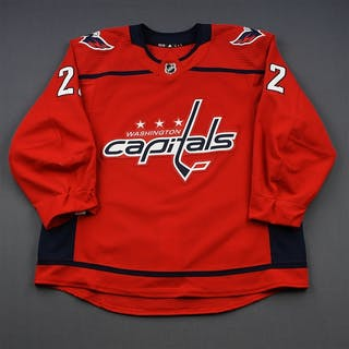 Bowey, Madison Red Set 1 Washington Capitals 2018-19 #22 Size: 58