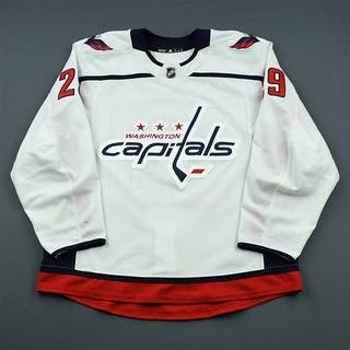 Djoos, Christian White Set 1 (A removed) Washington Capitals 2018-19
