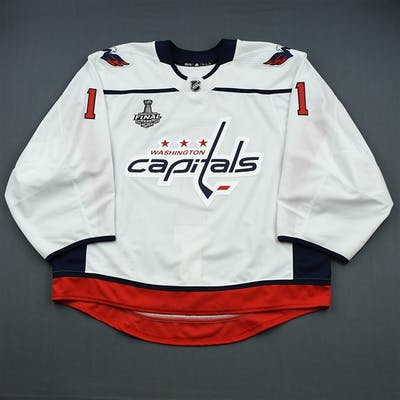 Copley, Pheonix White Stanley Cup Final Set 2 - Game-Issued (GI) -