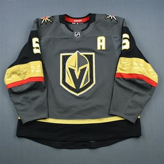 Engelland, Deryk Gray Set 1 w/A Vegas Golden Knights 2018-19 #5 Size: 58