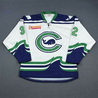 Donovan, Sam White Set 1 Connecticut Whale 2018-19 #32 Size: M