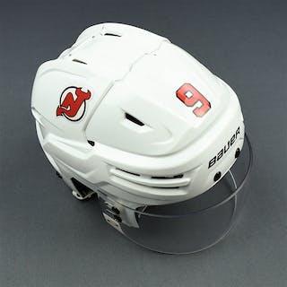 Hall, Taylor White, Bauer Helmet w/ Oakley Shield - Preseason Only