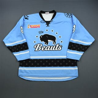 Babstock, Kelly Blue Set 1 Buffalo Beauts 2018-19 #8 Size: LG