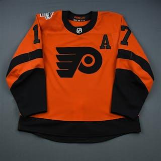 Simmonds, Wayne Orange w/A - Stadium Series - Period 2 Philadelphia