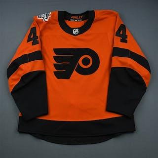 Laughton, Scott Orange - Stadium Series - Period 2 Philadelphia Flyers