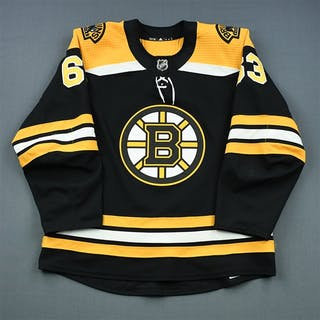 Marchand, Brad Black Set 1 (A removed) Boston Bruins 2018-19 #63 Size: 54