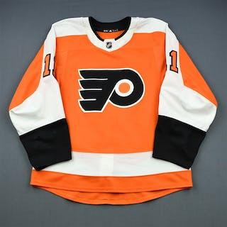 Konecny, Travis Orange Set 1 Philadelphia Flyers 2018-19 #11 Size: 52