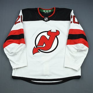 Coleman, Blake White Set 1 (A removed) New Jersey Devils 2018-19 #20 Size: 56