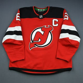 Greene, Andy Red Set 1 w/C New Jersey Devils 2018-19 #6 Size: 56