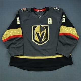 Engelland, Deryk Gray Set 2 w/A Vegas Golden Knights 2018-19 #5 Size: 58