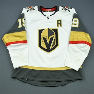 Smith, Reilly White Set 2 w/A Vegas Golden Knights 2018-19 #19 Size: 54