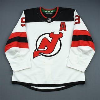 Hall, Taylor White Set 1 w/A New Jersey Devils 2018-19 #9 Size: 54