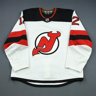 Lovejoy, Ben White Set 2 New Jersey Devils 2018-19 #12 Size: 56