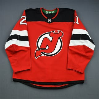 Palmieri, Kyle Red Set 1 (A removed) New Jersey Devils 2018-19 #21 Size: 54